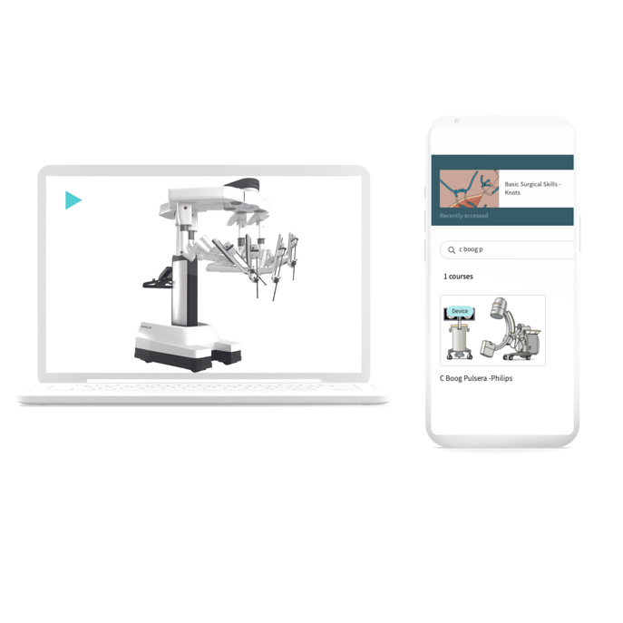 1. Learn new - Da Vinci Surgical System - and C-Arm Pulsera device course