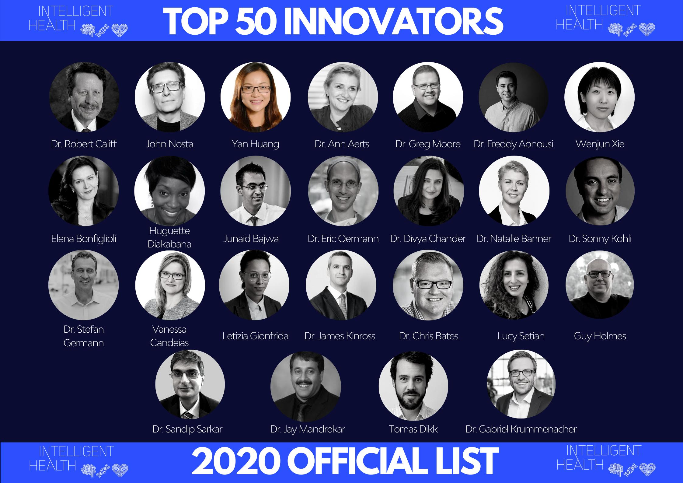 IH Top 50 Innovators - Part I-1