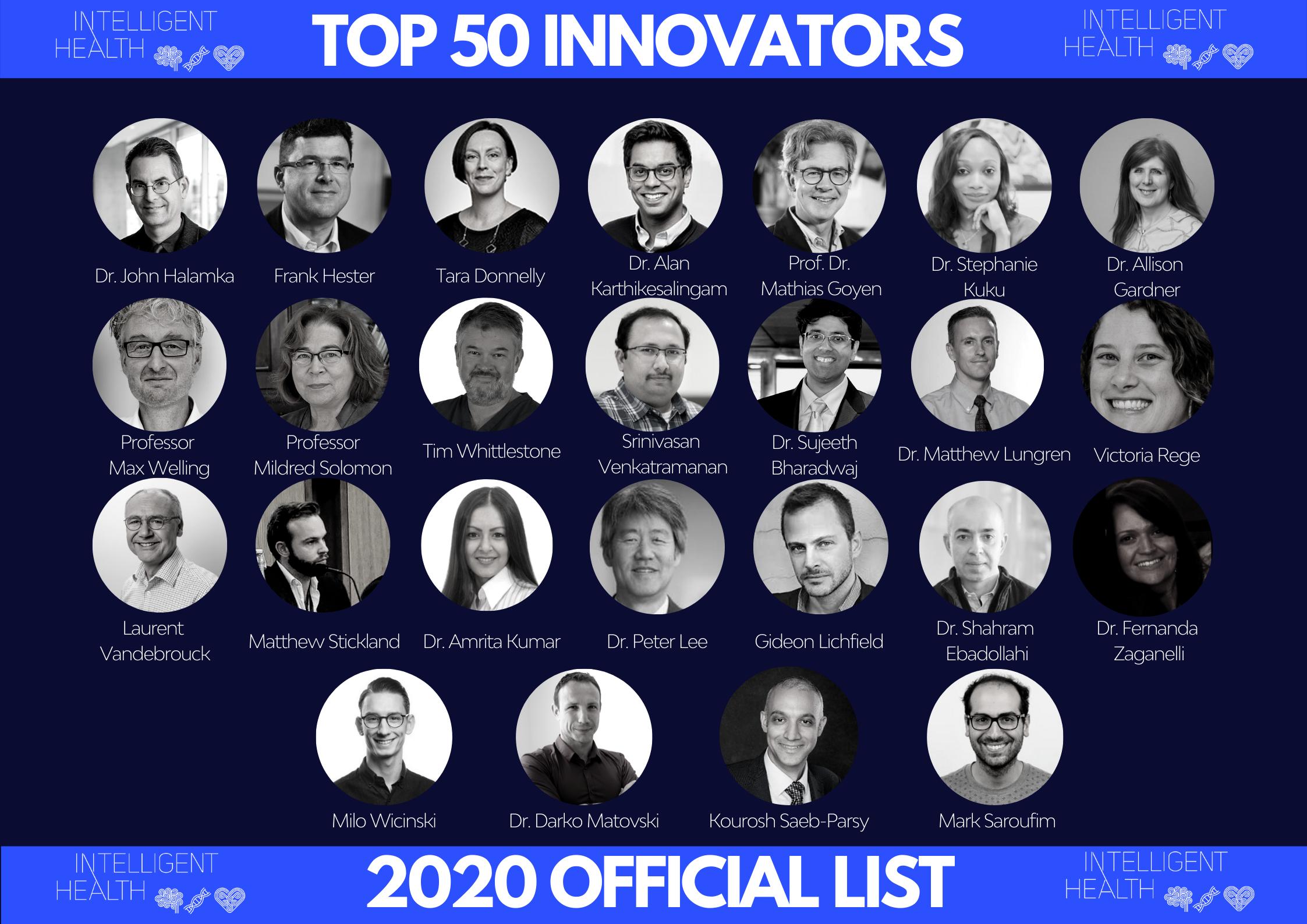 IH Top 50 Innovators - Part II
